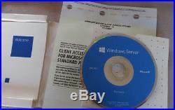 Microsoft Windows Server 2012 R2 Standard 10 CAL Retail SKU P73-05967