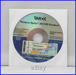 Microsoft Windows Server 2012 R2 Standard 2CPU/2VM Deutsch mit DVD