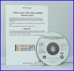 Microsoft Windows Server 2012 R2 Standard HP-ROK 2CPU/2VM