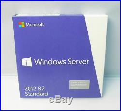 Microsoft Windows Server 2012 R2 Standard Retail/Box-Vollversion inkl. 5 CA