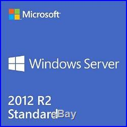 Microsoft Windows Server 2012 R2 Standard (Retail Sealed) With 25 User CAL