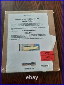 Microsoft Windows Server 2012 Standard R2 ROK HP