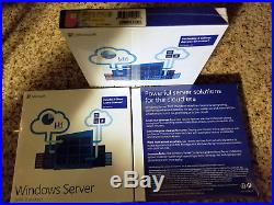 Microsoft Windows Server 2016Standard, SKU P73-07041,5 CAL, Sealed Retail Box, Full