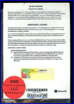 Microsoft Windows Server 2016 Additional 16 Cores License