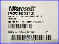 Microsoft Windows Server 2016 Datacenter 16 Core 64bit OEM License Key USB Drive