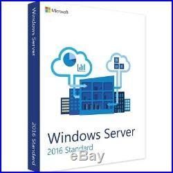 Microsoft Windows Server 2016 Standard 2CPU + 50 RDS DEVICE + 50 DEVICE CALs