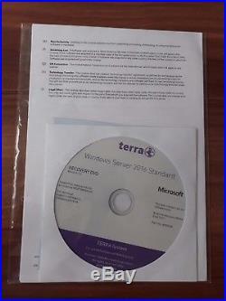 Microsoft Windows Server 2016 Standard 64bit 16 Core Terra / Wortmann AG ROK