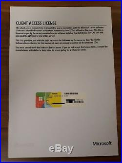 Microsoft Windows Server 2016 Standard Lizenz 10 CAL USER / Nutzer / Benutzer
