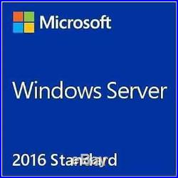 Microsoft Windows Server 2016 Standard RDS+ 50 User + 50 Device CALs