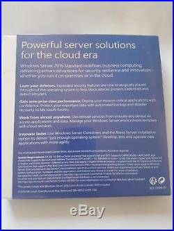 Microsoft Windows Server 2016 inc 10 CALS Retail package, Brand New and sealed