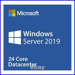 Microsoft Windows Server 2019 Datacenter (24 CORE LICENSE SET) P71-09053