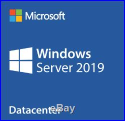 Microsoft Windows Server 2019 Datacenter (Retail Sealed) With 50 CAL