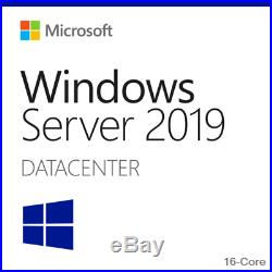 Microsoft Windows Server 2019 Datacenter Retail Sealed with 25-CAL
