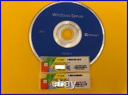 Microsoft Windows Server 2019 Datacenter + Standard DVD COA 16 Core