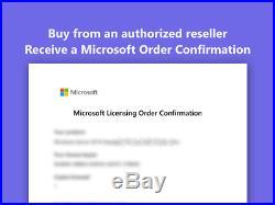 Microsoft Windows Server 2019 Datacenter with 5 User CALs (16 core) Retail FPP
