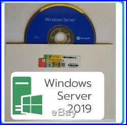Microsoft Windows Server 2019 STD 64/16C DVD/COA + 50 RDS + 50 USER CALs
