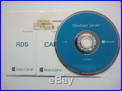 Microsoft Windows Server 2019 STD 64/16C DVD/COA + 50 RDS USER CALs+50 USER CALs