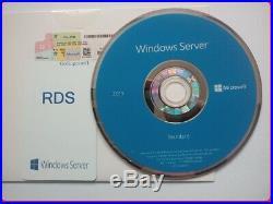 Microsoft Windows Server 2019 STD 64/16C DVD/COA P73-07788 + 50 RDS USER CALs