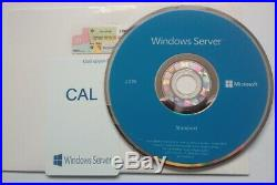 Microsoft Windows Server 2019 STD 64/16C DVD/COA P73-07788 + 50 USER CALs