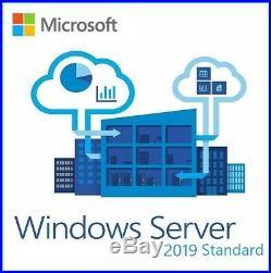 Microsoft Windows Server 2019 Standard 16 Core Includes 25 Cal (retail Sealed)