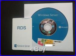 Microsoft Windows Server 2019 Standard 2CPU RDS (50) USER CALs (DVD & COA)