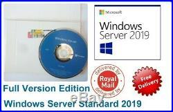 Microsoft Windows Server 2019 Standard 64BIT 2CPU 16CS 2VMs + RDS (50) USER CALs