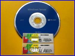 Microsoft Windows Server 2019 Standard DVD + COA 2 pcs