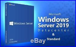 Microsoft Windows Server 2019 Standard / Datacenter 50 User Device RDS Cals
