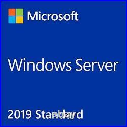 Microsoft Windows Server 2019 Standard Full Edition 64 Bits(only)