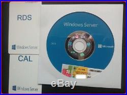 Microsoft Windows Server 2019 Std 64BIT + RDS (50) USER + 50 USER CALs DVD & COA