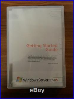 Microsoft Windows Server Enterprise 2008 R2 64bit SP1 10Clt englisch P72-04469