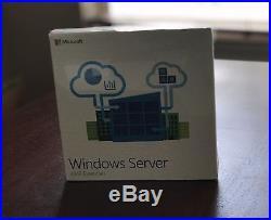 Microsoft Windows Server Essentials 2016 64 Bit English DVD