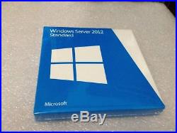 Microsoft Windows Server Standard 2012 Full Retail Version