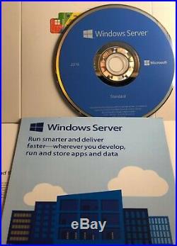 Microsoft Windows Server Standard 2016 -2CPU-16 Core(2 Virtual Machines)