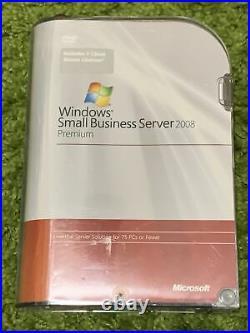 Microsoft Windows Small Business Server 2008 Premium 5 CALs SKU T75-02411 Retail