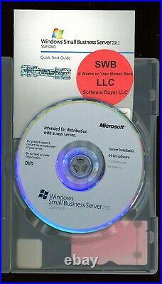 Microsoft Windows Small Business Server 2011 Standard 5 CAL