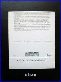 Microsoft Windows Small Business Server 2011 Standard 5 CAL RETAIL SBS 6UA-03221