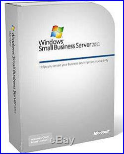 Microsoft Windows Small Business Server Essentials 2011 64-bit OEM MS2VG0020 NEW