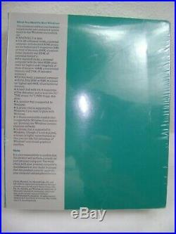 Microsoft Windows Version 3.1 New Factory Sealed Box Still 1990 Copyright