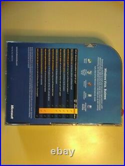 Microsoft Windows Vista Business English Full Version Brand New & Sealed