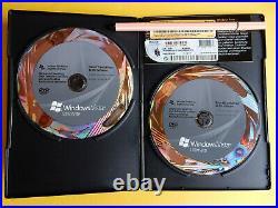 Microsoft Windows Vista Ultimate 32/64 Bit Deutsch 2 DVDs, 100% original