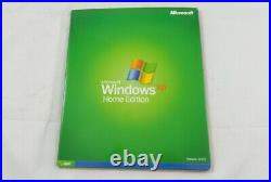 Microsoft Windows XP Home Edition Full Version with SP1 CD-ROM (N09-00984)