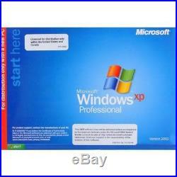 Microsoft Windows XP Professional Edition SP3 OEM CD-ROM (E85-05683)