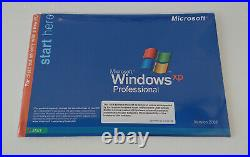 Microsoft Windows XP Professional SP3 OEM With COA Sealed
