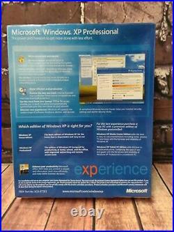 Microsoft Windows XP Professional WithSP2 CD Sealed Box 2002 (E85-02667)