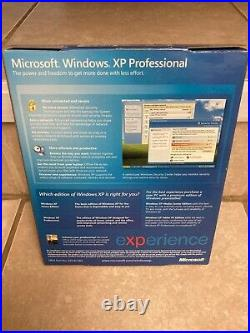 Microsoft Windows XP Professional with SP2 E85-02665 Full Retail Box Version