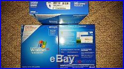 Microsoft Windows XP Professional with SP2, SKU E85-02665, Sealed Retail Box, Full