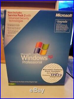 Microsoft Windows XP Professional with SP2, SKU E85-02666, Sealed Retail Box, Full