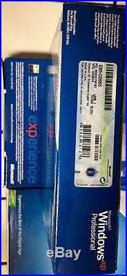 Microsoft Windows XP Professional with SP2 Sealed Retail Box