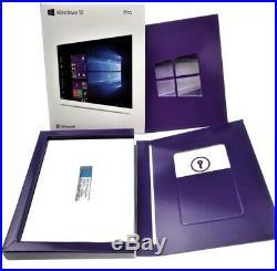 NEW Microsoft Windows 10 Pro 32/64 Bit USB Flash RETAIL VER. Free FAST Shipping